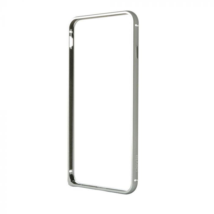 Bumper iPhone 6 Devia Aluminium Gun Black
