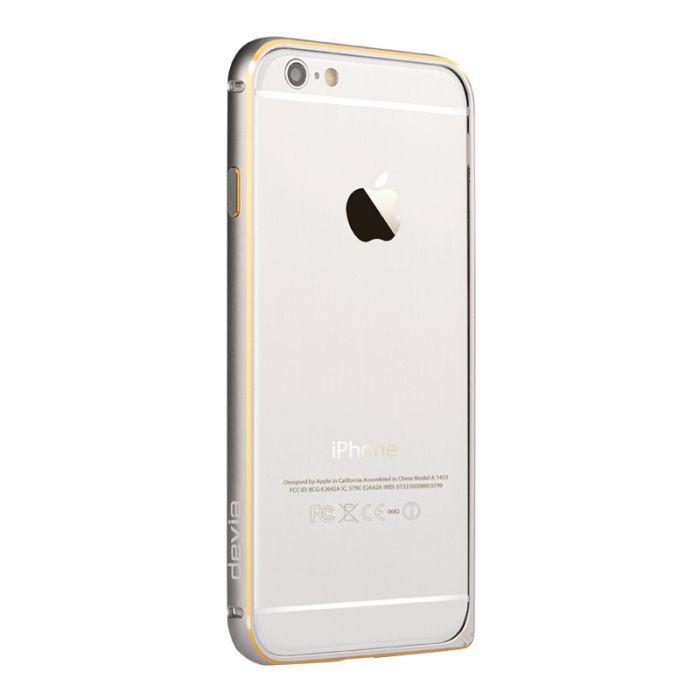 Bumper iPhone 6 Devia Aluminium Silver