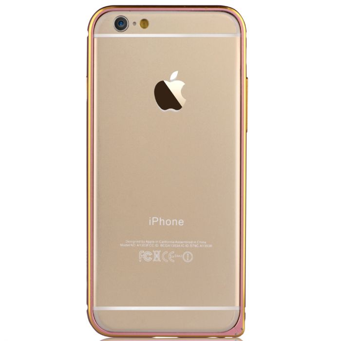 Bumper iPhone 6 Devia Aluminium Pink