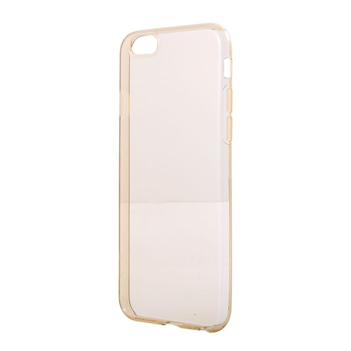 Husa iPhone 6/6S Devia Silicon Naked Crystal Champagne (0.5mm)