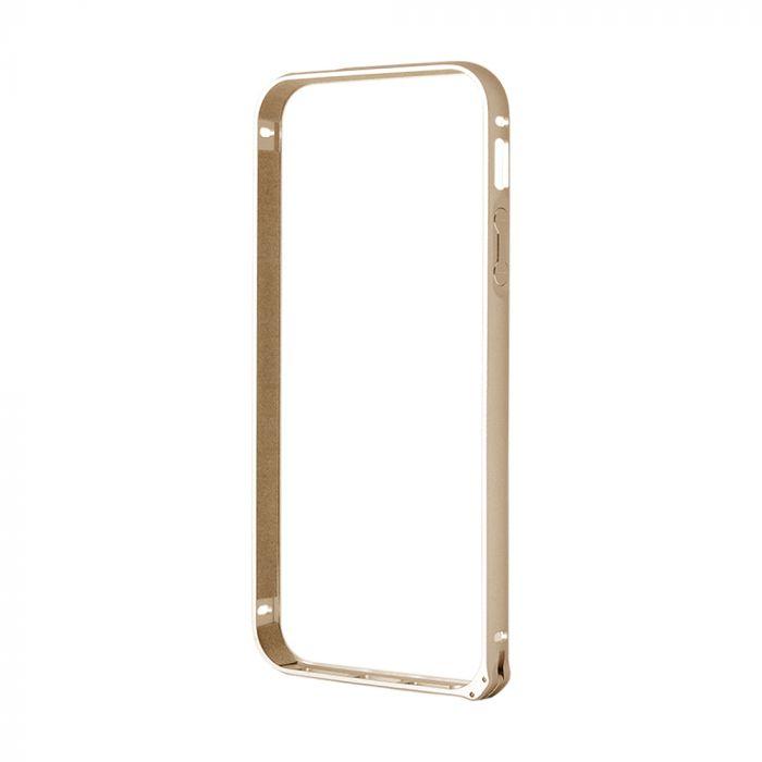 Bumper iPhone SE/5S Devia Buckle Gold (aluminiu)