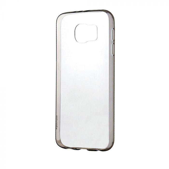 Husa Samsung Galaxy S6 G920 Devia Silicon Naked Smoky Black (0.5mm)