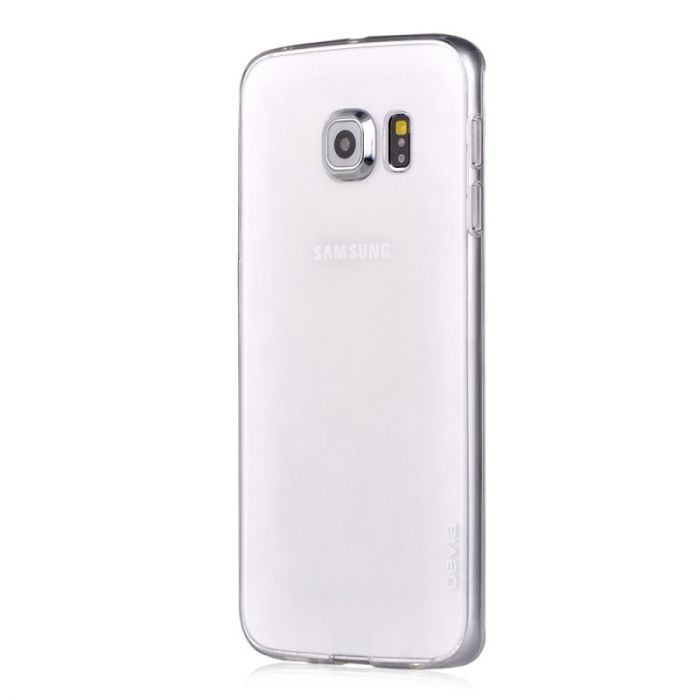 Husa Samsung Galaxy S6 Edge+ Devia Silicon Naked Crystal Clear (0.5mm)