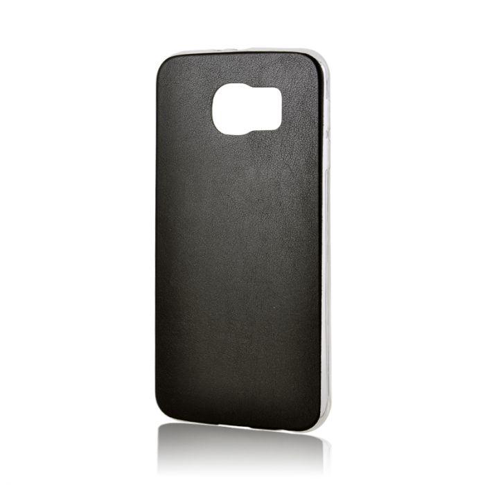 Husa Samsung Galaxy S6 G920 Lemontti Silicon Hybrid Negru (ultraslim)
