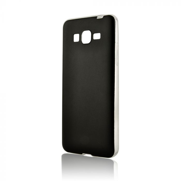 Husa Samsung Galaxy Grand Prime G530 Lemontti Silicon Hybrid Negru (ultraslim)