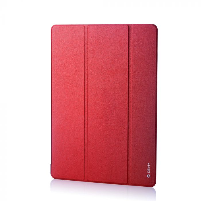 Husa iPad Pro 12.9 inch Devia Light Grace Rose Red