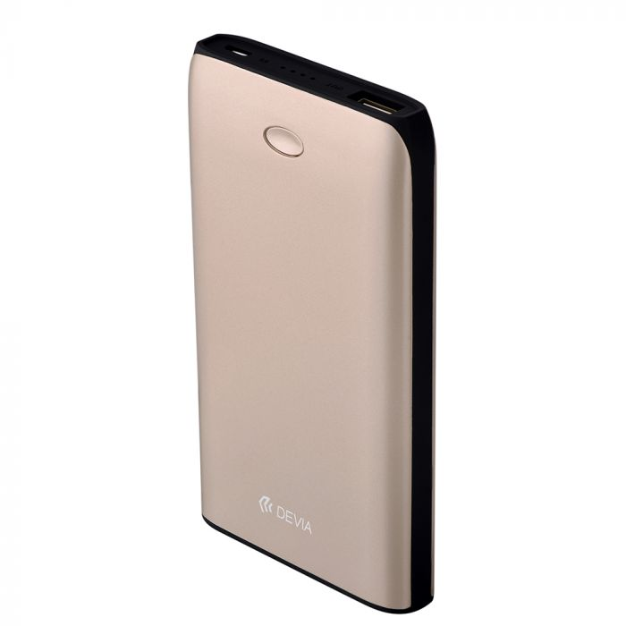 Acumulator extern Devia Flash Power Bank Champagne Gold 8000 mAh