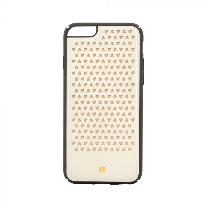 Carcasa iPhone 6/6S Just Must Carve III Beige (protectie margine 360�)