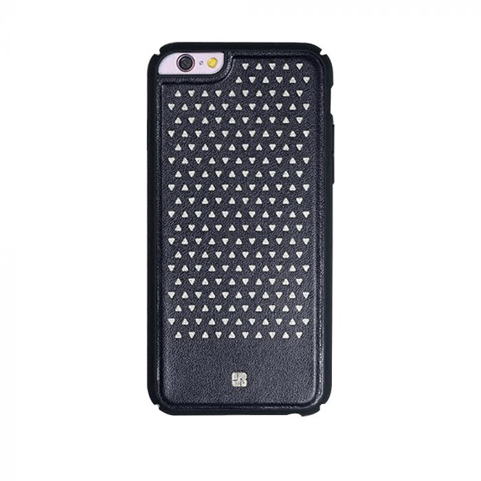 Carcasa iPhone 6/6S Just Must Carve III Black (protectie margine 360°)