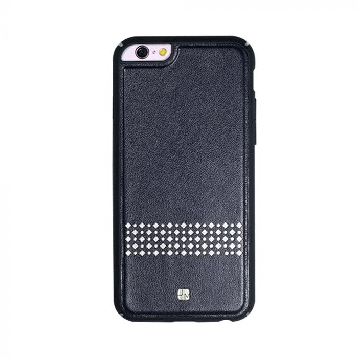 Carcasa iPhone 6/6S Just Must Carve V Black (protectie margine 360�)