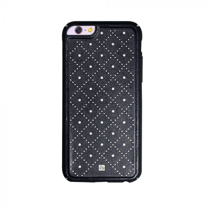 Carcasa iPhone 6/6S Just Must Carve VI Black (protectie margine 360�)