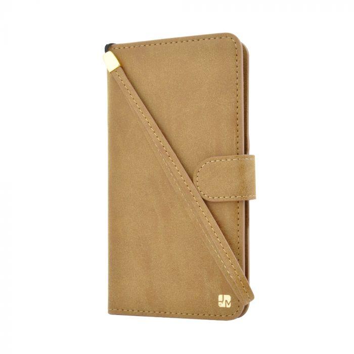 Husa Universala Just Must Wallet Loha Brown (smartphone intre 3
