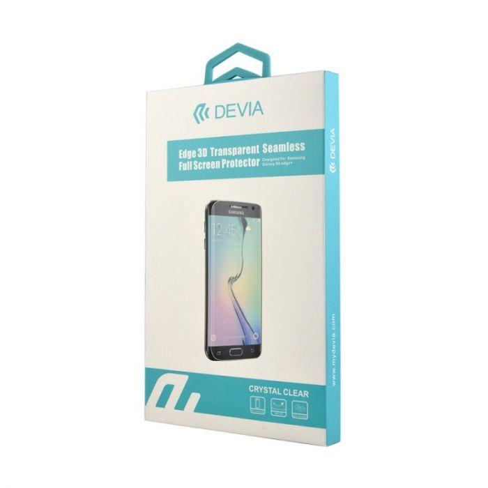 Folie Samsung Galaxy S7 Edge G935 Devia Clear 3D (margini curbate)