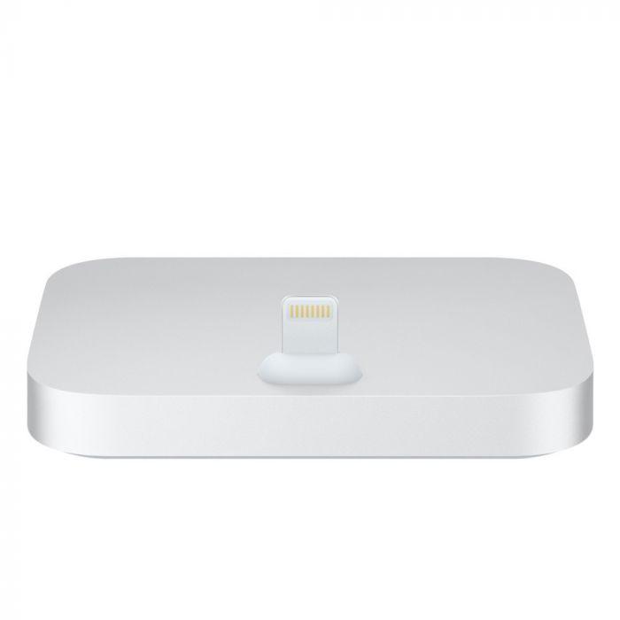 Suport Tip Dock Lightning Apple Gri (incarcare, jack 3.5 mm)