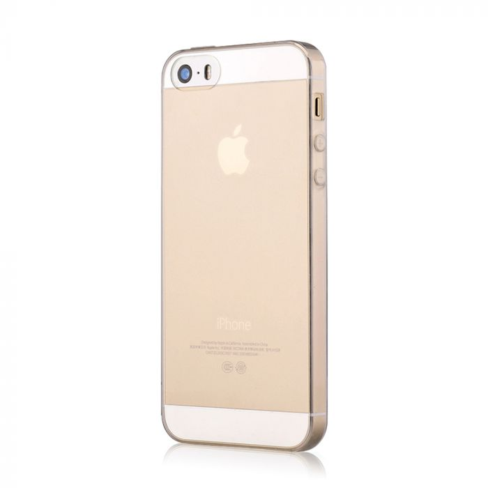 Husa iPhone SE/5S Devia Silicon Naked Transparent (0.5mm)