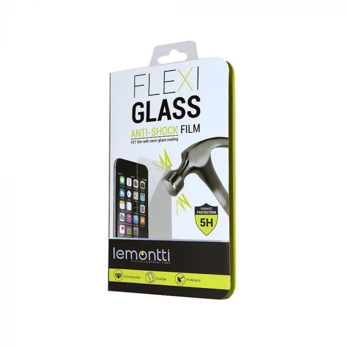 Folie Sony Xperia Z5 Compact Lemontti Flexi-Glass (1 fata)