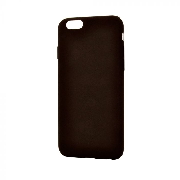 Carcasa iPhone 6/6S Lemontti Hard Rubber Slim Negru