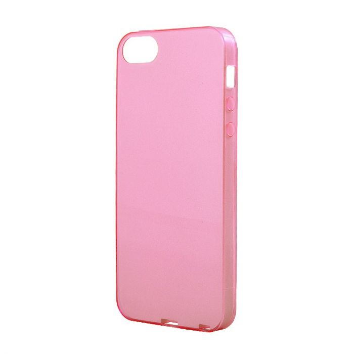Husa iPhone SE/5S Devia Silicon Naked Light Pink (0.5mm)