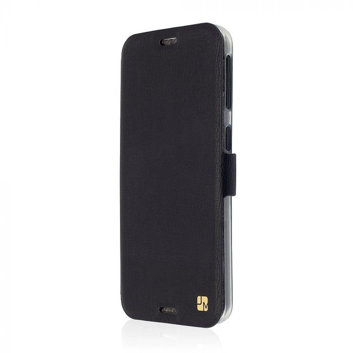 Husa HTC Desire 530 Just Must Book Slim Negru (silicon in interior)