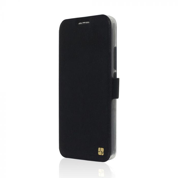 Husa Huawei Ascend Y6 Just Must Book Slim Negru (silicon in interior)