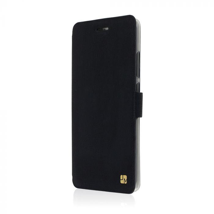 Husa Huawei Ascend P9 Just Must Book Slim Negru (silicon in interior)