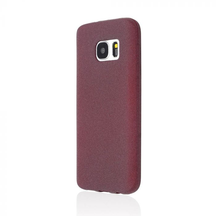 Husa Samsung Galaxy S7 G930 Just Must Silicon Sand Purple (flexibil)
