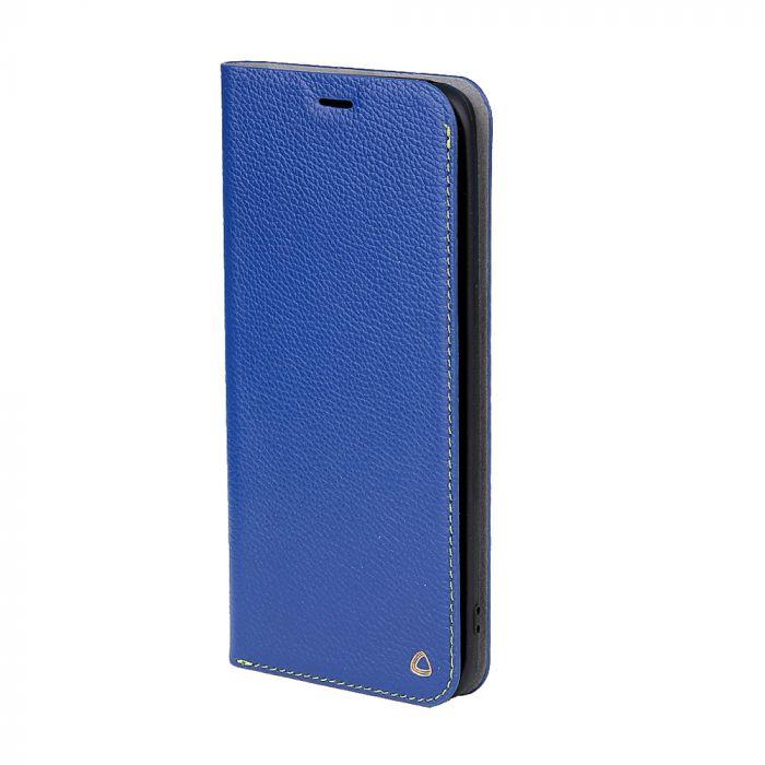Husa Samsung Galaxy S7 G930 Occa Book Jacket Navy (piele naturala)