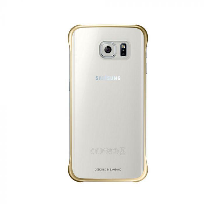 Carcasa Samsung Galaxy S6 Edge G925 Samsung Clear Cover Gold