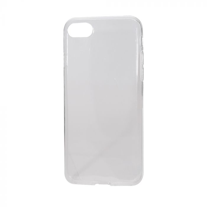 Husa iPhone 8 / 7 Lemontti Silicon Ultraslim Transparent
