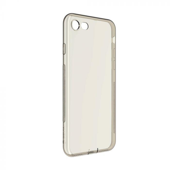 Husa iPhone 8 / 7 Devia Silicon Naked Smoky Black (0.5mm)