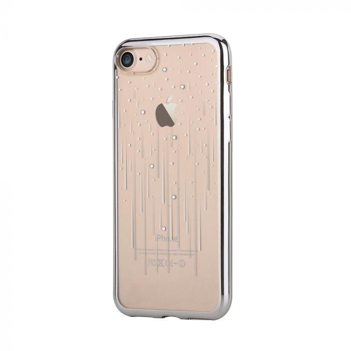 Husa iPhone 8 / 7 Devia Silicon Meteor Silver