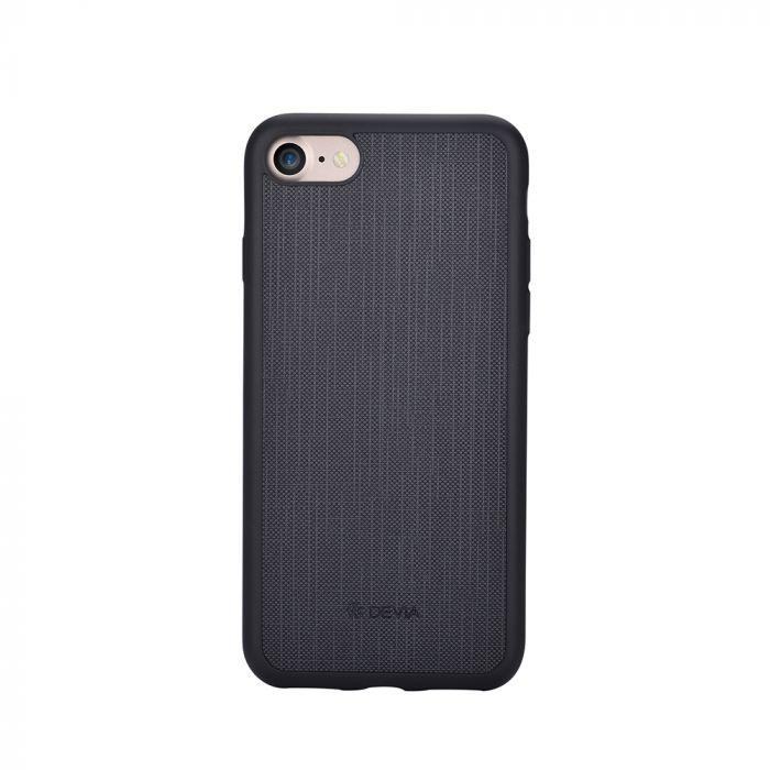 Carcasa iPhone 8 / 7 Devia Jelly Ultraslim Black (flexibil)