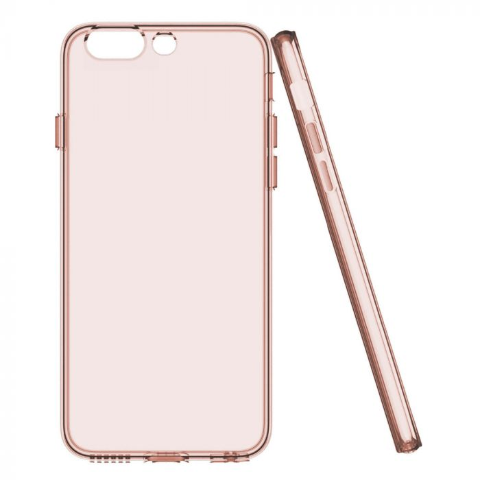 Husa iPhone 8 Plus / 7 Plus Devia Silicon Naked Rose Gold (0.5mm)
