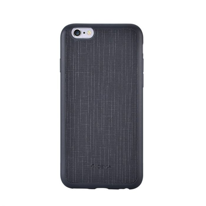 Carcasa iPhone 6 Plus Devia Jelly England Ultraslim Black (flexibil)