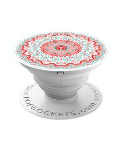 Suport Universal Popsockets Stand Adeziv Red Aztec Mandala