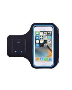 Husa Universal Devia Armband Easy Go Black (pentru smartphone de pana in 4.7 inch)