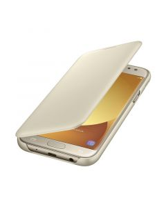 Husa Samsung Galaxy J5 (2017) Samsung Book Wallet Cover Gold