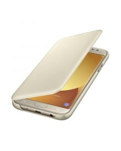 Husa Samsung Galaxy J7 (2017) Samsung Book Wallet Cover Gold