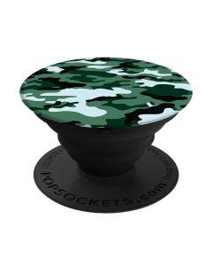 Suport Popsockets Stand Adeziv Green Camo
