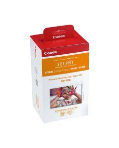 Canon Set RP108INK hartie fotografica 10x14.8cm + 2 cartuse pentru Imprimante Selphy