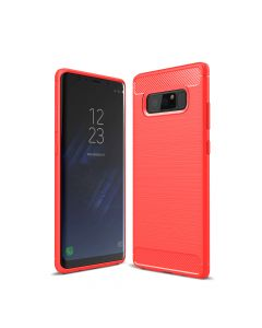 Carcasa Samsung Galaxy Note 8 Just Must Armour Soft Red (antishock si flexibil)