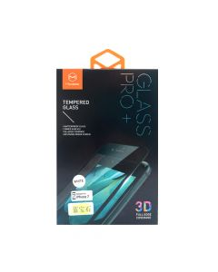 Folie iPhone 7 Mcdodo Sticla Sapphire 3D Full Cover White aliaj titanium, securizata antisoc grad 0,