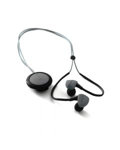 Casti Boompods Sportpods Race Dark Grey (in-ear, bluetooth, clip-on remote control, sweat resistant)