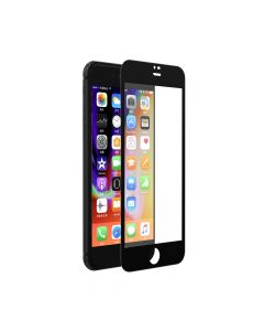 Folie iPhone 8 / 7 Devia Sticla Van Full Black (0.26mm, 9H)