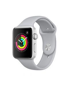 Apple Watch 3 GPS Silver Aluminium Case 42 mm cu Fog Sport Band
