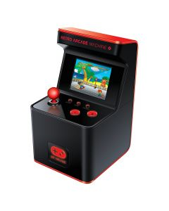 My Arcade Retro Arcade Machine X cu 300 de jocuri 16-bit, 2.5 inch display color