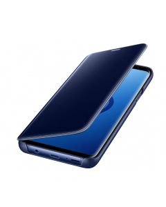 Husa Samsung Galaxy S9 Plus G965 Samsung Book Clear View Standing Blue