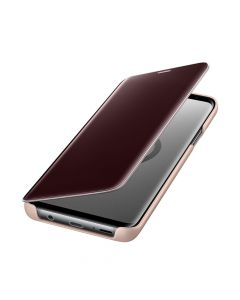 Husa Samsung Galaxy S9 Plus G965 Samsung Book Clear View Standing Gold