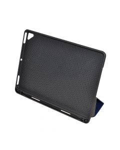 Husa iPad (5th gen / 6th gen) 9.7 inch Just Must Captain Armor Navy (carcasa antishock, slot stylus,