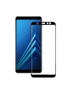 Folie Samsung Galaxy A6 Plus (2018) Eiger Sticla 3D Edge to Edge Clear Black
